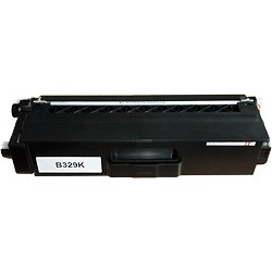 Toner compatible Brother TN329BK