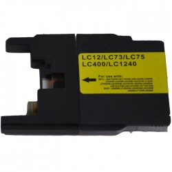 Cartouche compatible Brother LC1240Y
