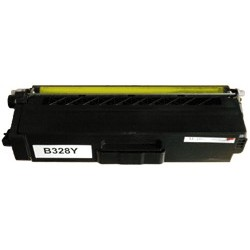 Toner compatible Brother TN328Y