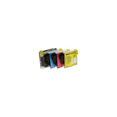 Cartouche compatible Brother LC-980VALBP