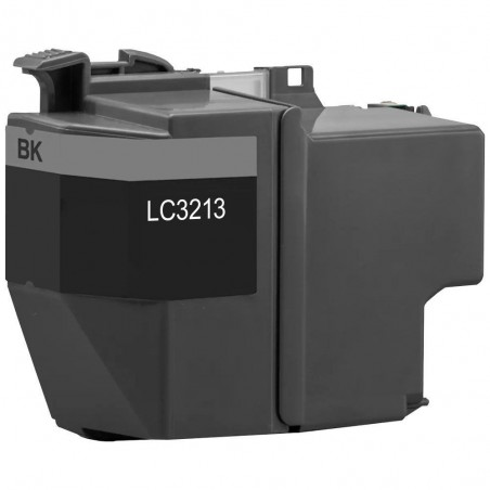 Cartouche compatible Brother LC3213BK