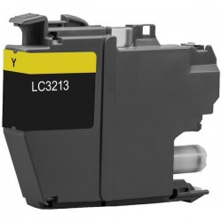 Cartouche compatible Brother LC3213Y