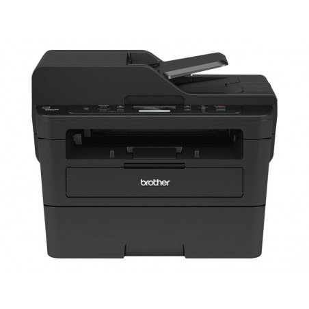 Imprimante Laser Multifonction Brother DCP-L2550DN + PACK de 2 cartouches de toners équivalents TN-2420 (3000 pages)