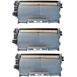 Pack de 3 Brother TN2210 compatible