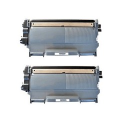 Pack de 2 Brother TN2220 compatible