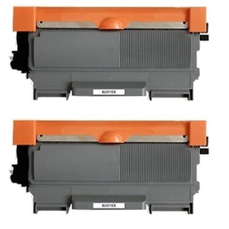 Pack de 2 Brother TN2010 compatible