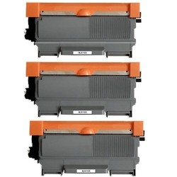 Pack de 3 Brother TN2010 compatible