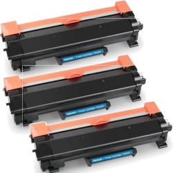Pack de 3 Brother TN2420 compatible