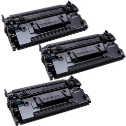 Pack de 3 HP 89Y CF289Y compatible