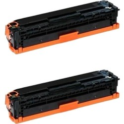 Pack de 2 HP 410A CF410A compatible