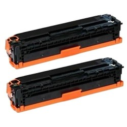 Pack de 2 HP 410X CF410X compatible