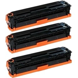 Pack de 3 HP 410X CF410X compatible