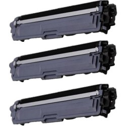 Pack de 3 Brother  TN247BK compatible