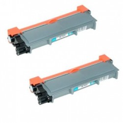 Pack de 2 Brother TN2310 compatible