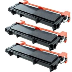 Pack de 3 Brother TN2410 compatible