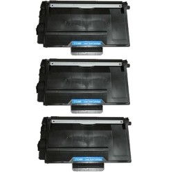 Pack de 3 Brother TN3480 compatible