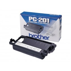 Brother PC201 - noire - original - ruban d'impression