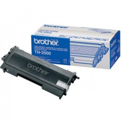 Brother TN2000 - noire - original - toner