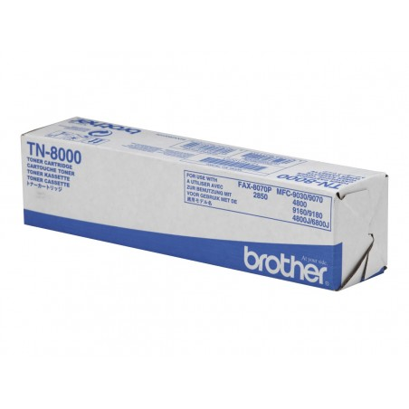 Brother TN8000 - noire - original - toner