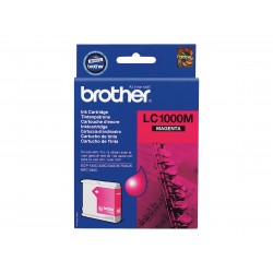 Brother LC1000 - magenta - originale - cartouche d'encre