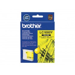 Brother LC1000 - jaune - originale - cartouche d'encre
