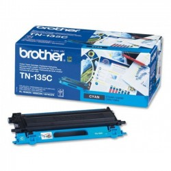 Brother TN135C - cyan - original - toner