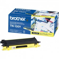 Brother TN130Y - jaune - original - toner