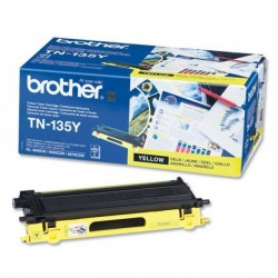 Brother TN135Y - jaune - original - toner