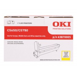 OKI 43780005 - jaune - original - kit tambour