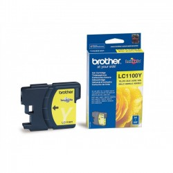 Brother LC1100 - jaune - originale - cartouche d'encre
