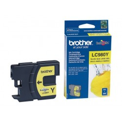 Brother LC980 - jaune - originale - cartouche d'encre