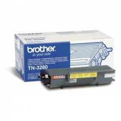 Brother TN3280 - noire - original - toner