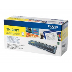 Brother TN230Y - jaune - original - toner