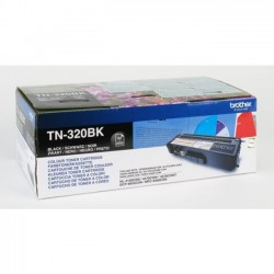 Brother TN320BK - noire - original - toner