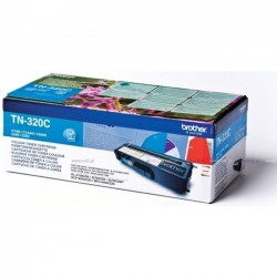 Brother TN320C - cyan - original - toner