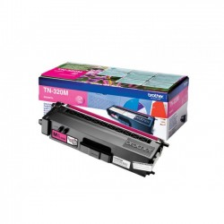 Brother TN320M - magenta - original - toner