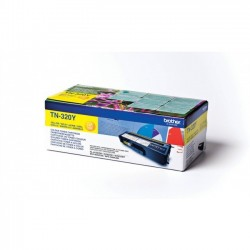 Brother TN320Y - jaune - original - toner