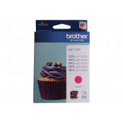 Brother LC123 - magenta - originale - cartouche d'encre