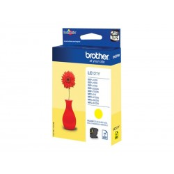 Brother LC121 - jaune - originale - cartouche d'encre