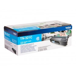 Brother TN321C - cyan - original - toner
