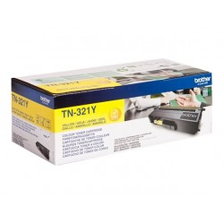 Brother TN321Y - jaune - original - toner