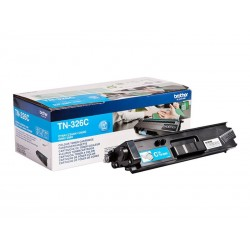Brother TN326C - cyan - original - toner