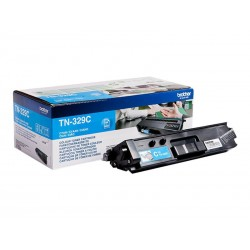 Brother TN329C - cyan - original - toner