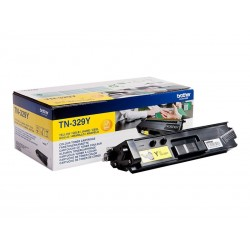Brother TN329Y - jaune - original - toner