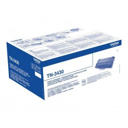 Brother TN3430 - noire - original - toner