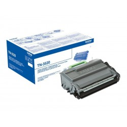 Brother TN3520 - noire - original - toner