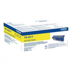 Brother TN421Y - jaune - original - Toner